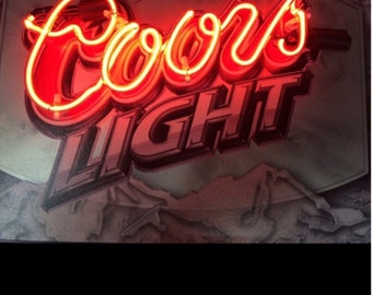 Affordable neon signs, Bespoke neon signs, beer neon sign, mancave neon sign, mancave lighting