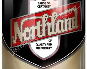 Reproduction oil can etsy for Northland motor oils lubricants