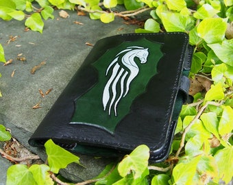 rohan emblem, riders of rohan, rohan white horse, leather kindle case