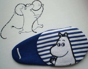 Fancy Moomin Eye Patch for lazy eye (amblyopia)