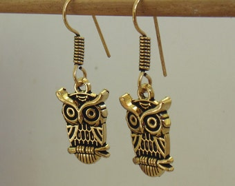 Owl earrings | Dangle and drop earring | Birthday party wear earring | Oxidized brass earrings | Girls fashion jewellery earrings | E70