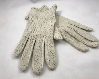 Ivory Driving Gloves