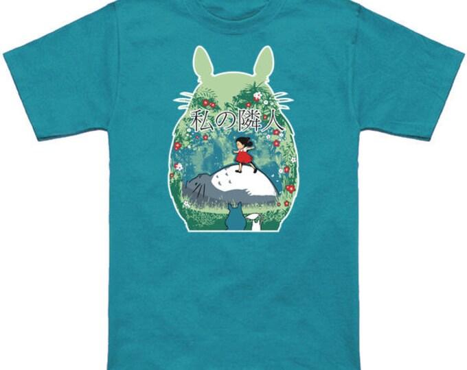 MY NEIGHBOR (Day Version) Totoro Geek T-Shirt Nerd Anime Shirt Studio Ghibli Hayao Miyazaki