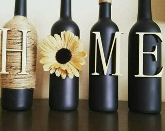 wine bottle decor wine bottles decorated wine bottle vase
