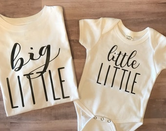 Set of 2, Perfect for a baby announcement or just a great matching sibling set to welcome a new baby to the family.