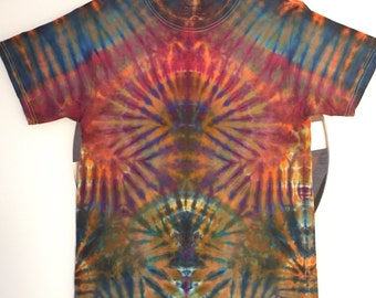 Tie Dye Handcrafted T-Shirt Size: Small