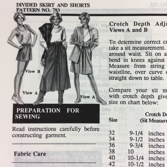 Estiramiento y coser 783 costura patrón dividido falda cortos cadera ...