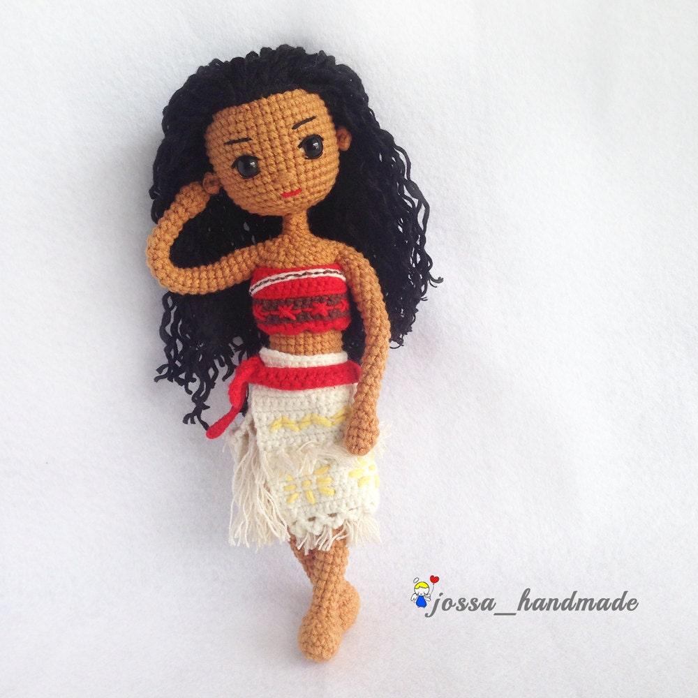 Amigurumi Hawai Doll : Crochet doll pattern amigurumi moana