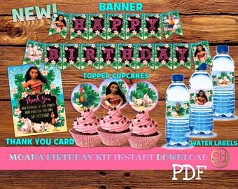Moana Birthday,Moana printable,Moana Party,moana decorations,moana birthday party,moana,party moana, moana kit printable,moana