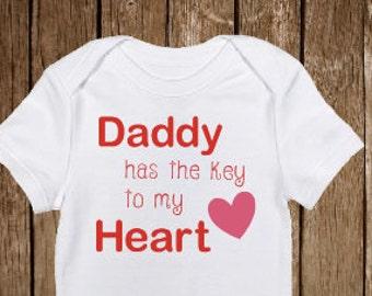 First Valentines Shirt, Valentines Girl shirt, Baby Girls Valentine Shirt, Daddys Valentine Shirt, Baby Valentine, Infant, Photo Props