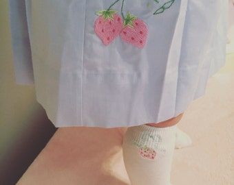 Embroidered Knee High Socks