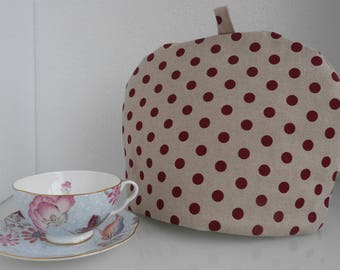 Red Dot Tea Cosy / Tea Cosy
