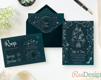 disney wedding invitation  etsy, invitation samples