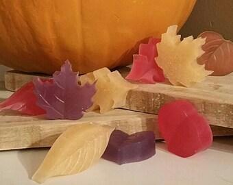 Mini Leaves Guest Soaps