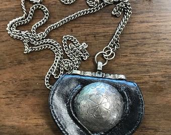 Vintage Mini Purse Necklace