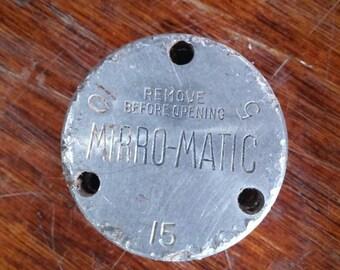 Vintage Mirro-Matic Pressure Cooker Canner Weight Jiggler Regulator Gauge