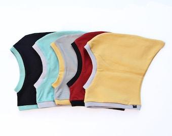 Pixie Hat - Organic Pixie Hood Hat - Toddler Pixie Hat - Baby Pixie Bonnet - Baby Pixie - Organic Pixie Hat - Organic Baby Balaclava