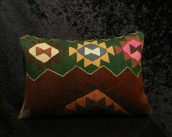 turkish pillow,handmade pillow,decorativepillow,24x16inch,60x40cm