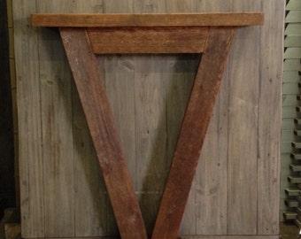 Cedar Rafter Table