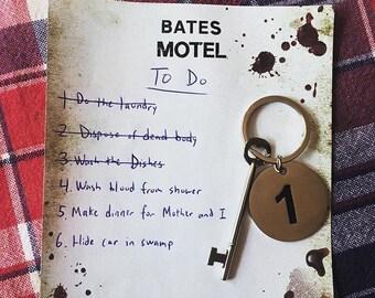 SECONDS Bates Motel Room Key