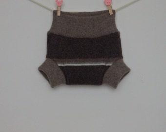 Lambswool plus angora soakers / diapers / shorties for newborns,