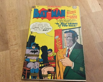 Batman no 68 Dec 1951 Jan 1952 52 page comic on DC Comics