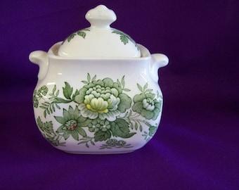 Vintage 1950's Enoch Wedgewood (Tunstall) LTD - Kent Sugar Bowl