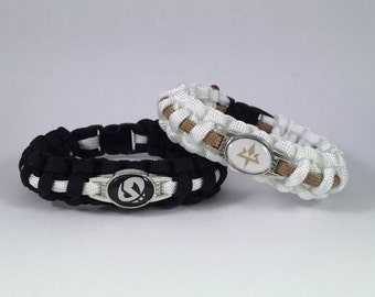 Pokemon Sun and Moon Team Skull Aether Foundation Paracord Bracelet
