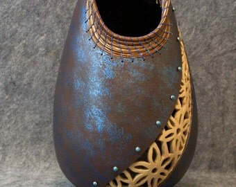 Fine Gourd Art - Twightlight Blooms