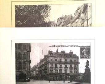 Expansion old postcards of Besançon