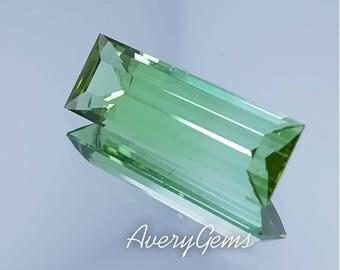 Tourmaline Loose 4.6 Ct Loose Gemstone Natural Ror Engagement Ring Tourmaline Necklace Precious Gemstone Precision Cut By AveryGems
