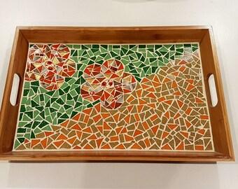 Tray. Artisan tray