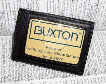 Vintage BUXTON Genuine Leather NOS Key-Tainer Key Keeper Case Wallet Unused