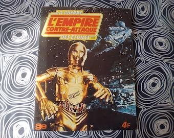vtg 1980 Star Wars empire strikes album