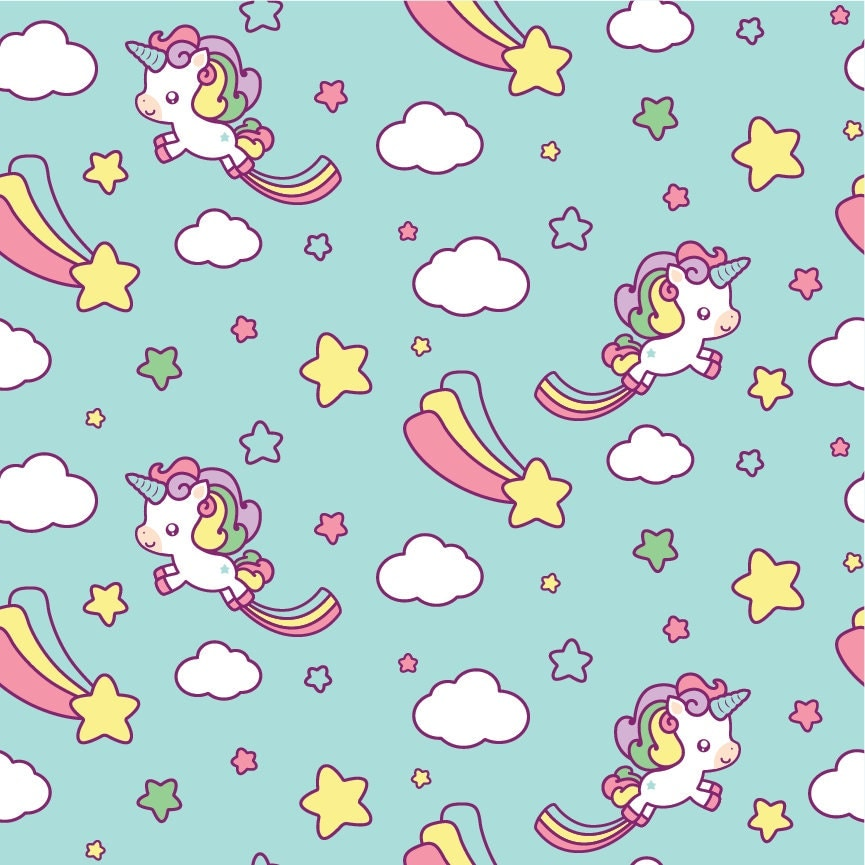 Narwhal Pattern Background