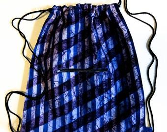 Gym bag 'Striped Marble'