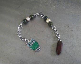 Red Jasper Crystal Pendulum/ Dowsing Pendulum