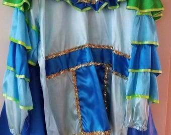 Mardi Gras Costume 2014 Krewe of King Arthur New Orleans   **** MAKE OFFER! ****