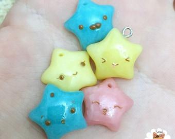 Kawaii Star Charms
