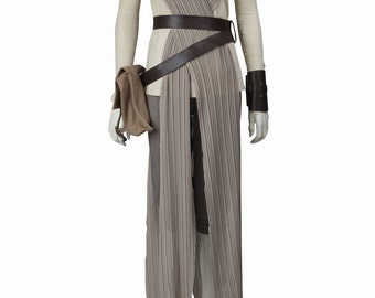 The Force Awakens Rey Ridley Cosplay Costumes