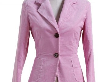 The Goblet of Fire Hermione Granger Pink Corduroy Blazer Cosplay Costumes