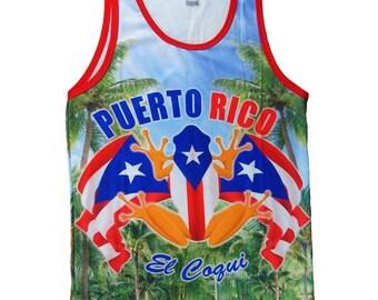 Puerto Rico Coqui Tank Top Jersey