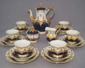 Meissen coffee service for 6 persons B-form