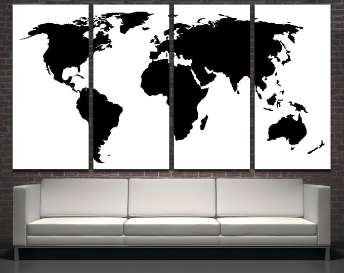 15 off coupon on large black world map wall art modern map of large black world map wall art modern map of the world wall art framed gumiabroncs Choice Image