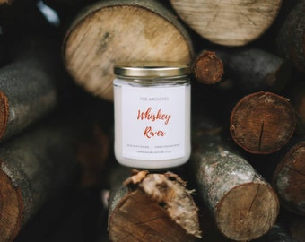 Whiskey Soy Candle Handmade Candle - 16-oz. by The Archives Candles