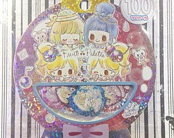 Fruit Palette sticker sack - kawaii sticker sack - Kamio - sticker flakes