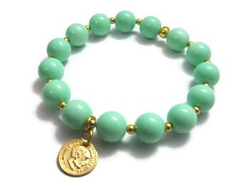 Put a coin on it mint bracelet
