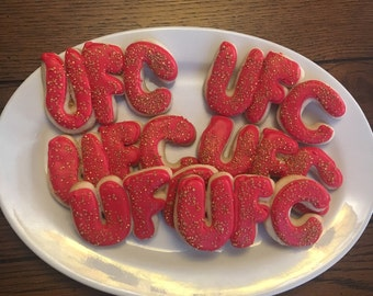 UFC Themed Cookies