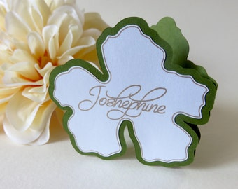 Personalized Place Cards, Neutral Place Cards, Greenery Place Cards, Flower Place Cards, Exotic place cards, Custom Place Cards, Wedding