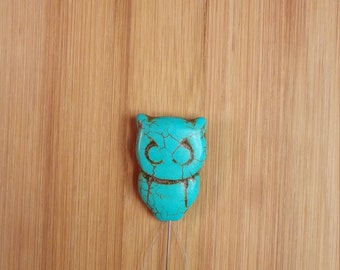 Stone Owl Needle Threader